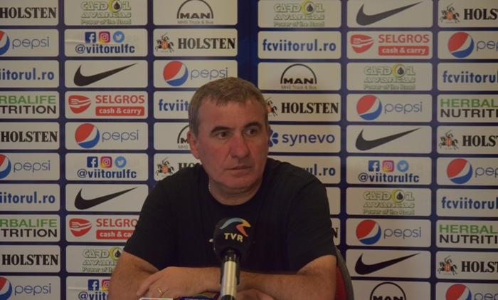 """Gheorghe Hagi, manager tehnic Viitorul: """"Încercăm să creăm imposibilul"""""""