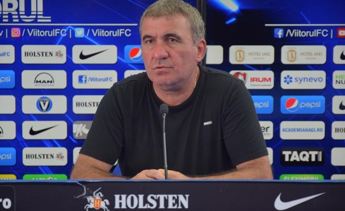 """Gheorghe Hagi, manager tehnic Viitorul: """"Ca să ai o şansă să câştigi trebuie să joci fără minge foarte bine cu Sepsi"""""""