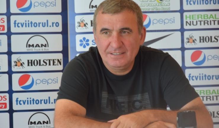 """Gheorghe Hagi, manager tehnic Viitorul: """"E doar un început foarte bun al nostru"""""""