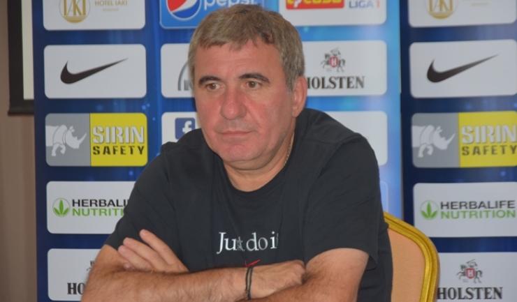"""Gheorghe Hagi, manager tehnic Viitorul: """"Trebuie să fim buni în toate"""""""