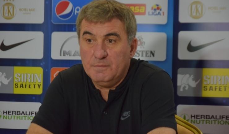 """Gheorghe Hagi, manager tehnic Viitorul: """"Trebuie să exploatăm momentul foarte bun pe care îl avem în campionat"""""""