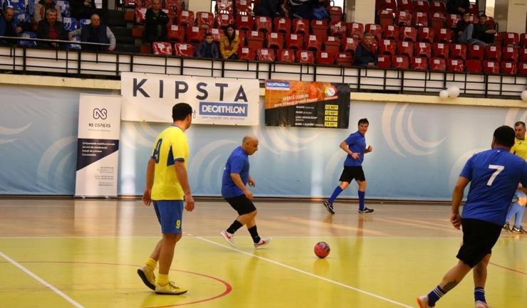 CFR-Municipal Constanţa (tricouri galbene) s-a impus la scor în partida cu SNC