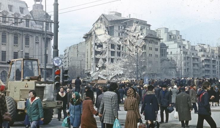 1.578 de români morți, alte 11.300 de persoane rănite și 30.000 de locuințe prăbușite sau avariate: acesta este bilanțul marelui cutremur din 4 martie 1977 (sursa foto: bugetul.ro)