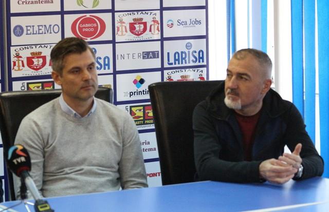 Tiberiu Curt este noul manager al SSC Farul