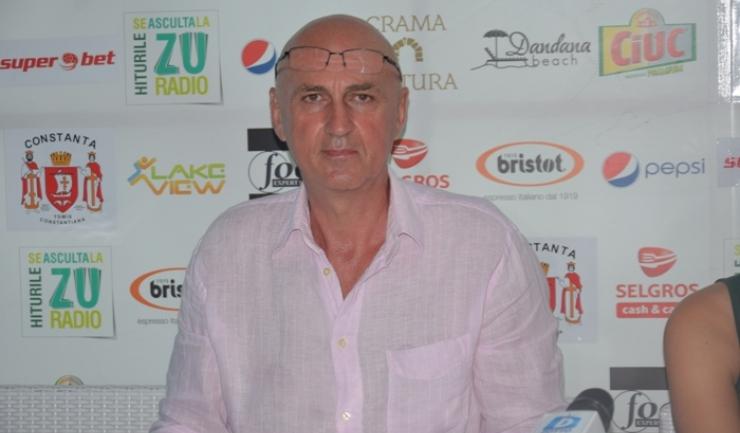 George Peicea, secretarul Comisiei de volei pe plajă din cadrul Federației Române de Volei
