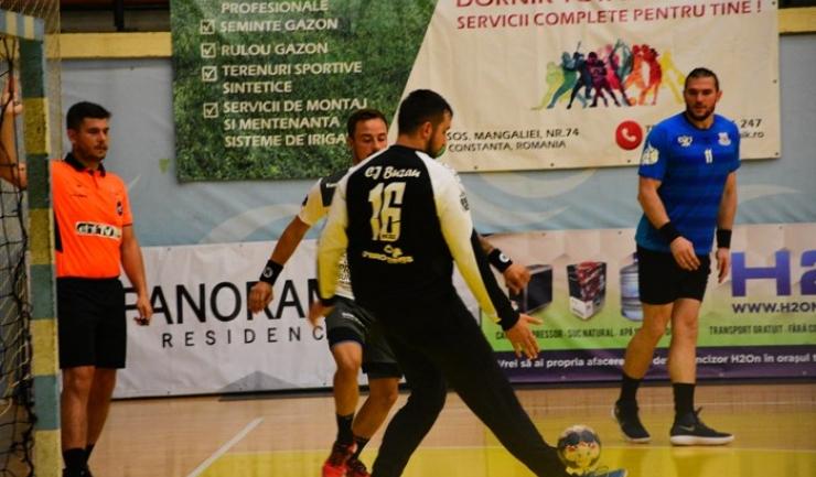 Extrema Ionuţ Nistor a marcat cele mai multe goluri pentru HCDS la Baia Mare
