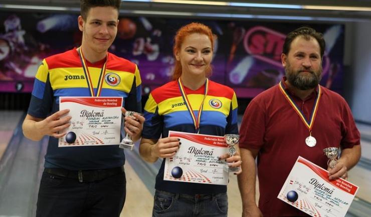 Split București s-a clasat pe locul 2 la trio