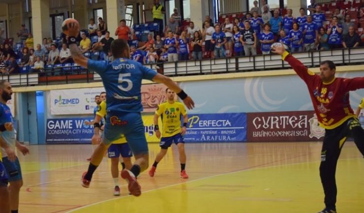 Handbaliştii constănţeni vor avea un meci dificil duminică, în Cupa EHF