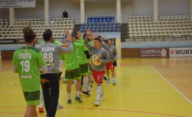 Handbaliştii constănţeni vor să obţină a doua victorie din campionat