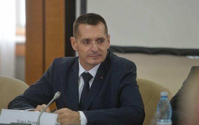 Petre Tobă, ministrul Afacerilor Interne