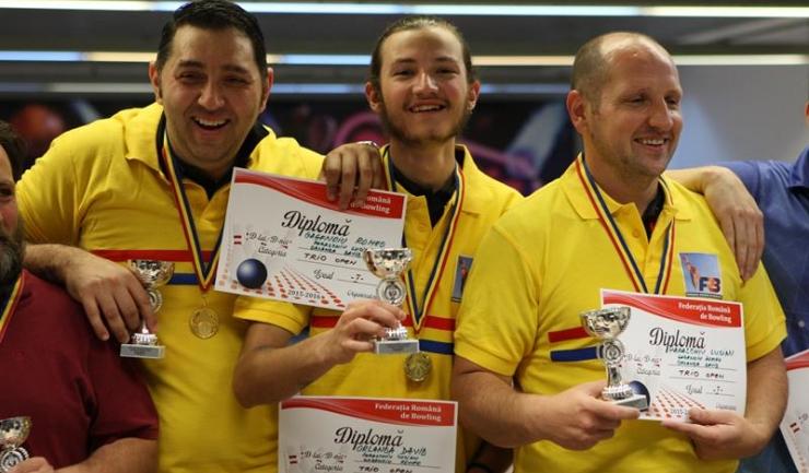 IDM București a devenit campioană națională la trio