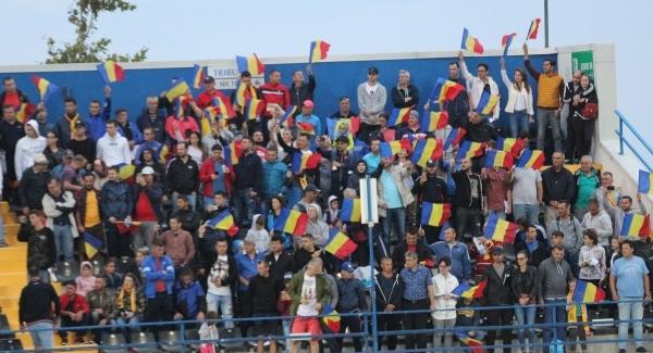 Suporterii români sunt aşteptaţi în număr mare în tribune