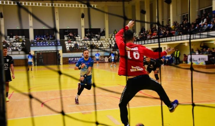 Ionuţ Nistor a marcat cele mai multe goluri pentru HCDS în meciul de la Alexandria