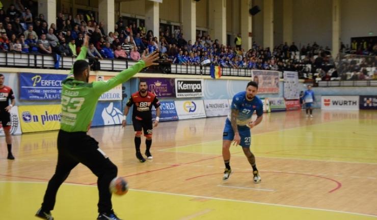 Ciprian Şandru a înscris, din nou, cele mai multe goluri pentru HCDS