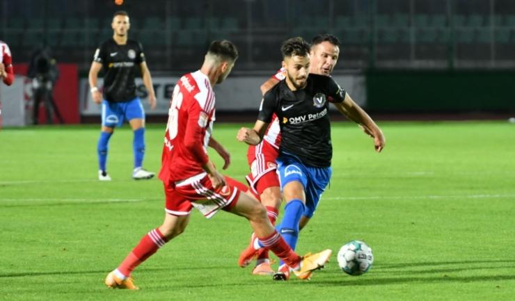 Andrei Ciobanu a marcat golul Viitorului (sursa foto: www.fcviitorul.ro)