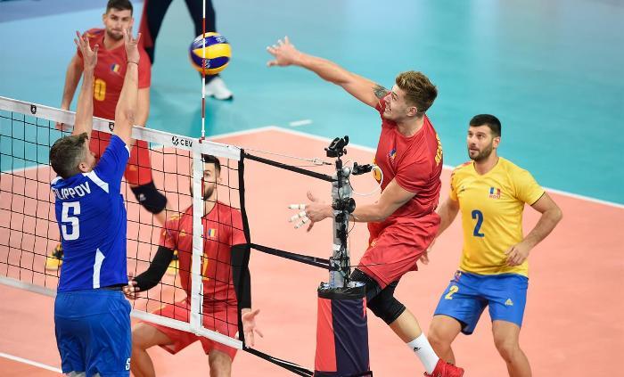 Adrian Aciobăniţei a reuşit din nou cele mai multe puncte pentru echipa noastră (sursa foto: www.cev.eu)