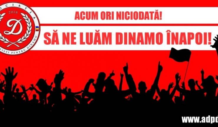Sursa foto: Facebook Asociatia Dinamovisti pentru Dinamo
