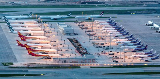 Ryanair, KLM, Air France, Lufthansa, Virgin Atlantic