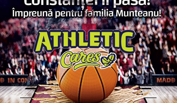 Sursa foto: Facebook Baschet Club Athletic Constanta