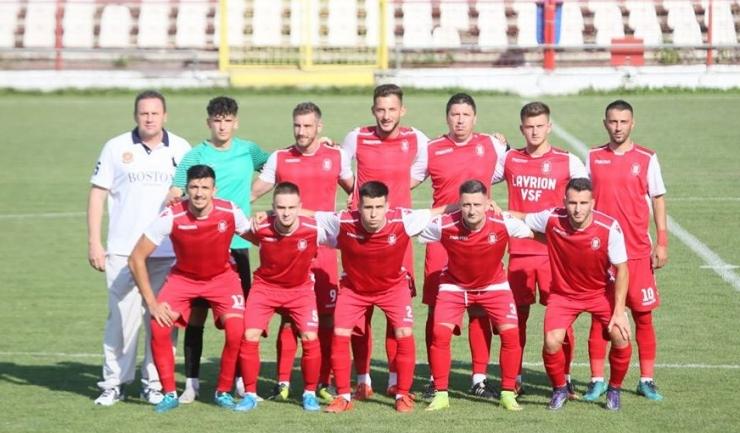 Echipa de start din meciul de la Galaţi (sursa foto: Facebook CS Gloria Albeşti)