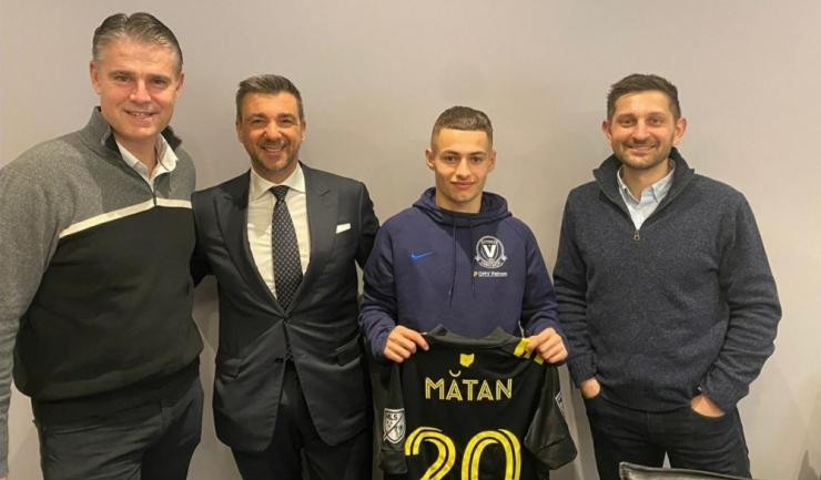 Alexandru Măţan, foto: facebook, FC Viitorul Constanţa
