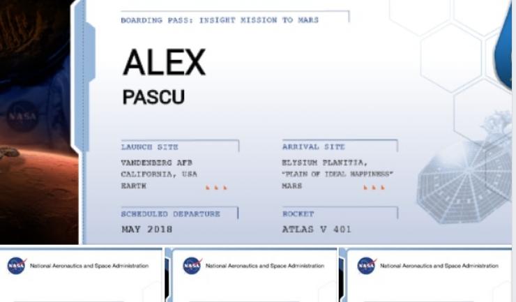 """Realizările Goodbye to Gravity şi numele trupei lor sunt puternic conectate cu călătoria în spaţiu şi astronomia. De asta am ales această modalitate de a-i onora pe cei patru"""", a scris Andreas Schonhofen, pe pagina de Facebook a trupei Goodbye to Gravity"""