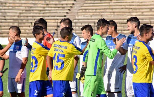 Axiopolis Cernavodă şi CS Medgidia continuă pregătirea pentru sezonul 2018-2019 din Liga a 3-a (sursa foto: Facebook Clubul Sportiv Medgidia)