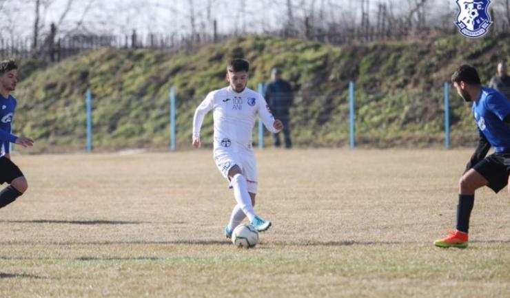 Alexandru Stoica a marcat de patru ori în amicalul de sâmbătă (sursa foto: www.fcfarulconstanța.ro)