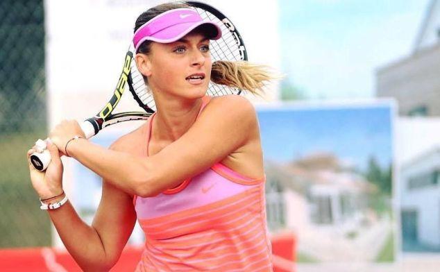 Ana Bogdan se afla în avantaj în momentul abandonului belgiencei Kirsten Flipkens