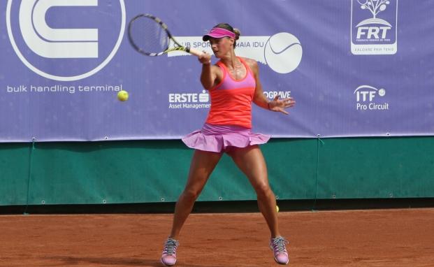 Ana Bogdan nu a putut trece de primul tur la Monterrey