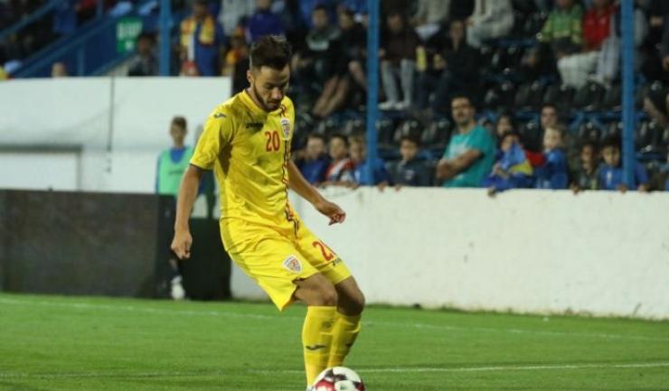 Andrei Ciobanu, jucătorul Viitorului, a stabilit rezultatul final (sursa foto: www.fcviitorul.ro)