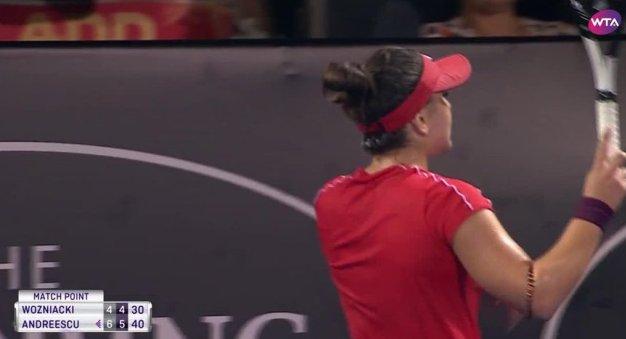 Site-ul WTA a remarcat performanța incredibilă reușită de Bianca Andreescu (sursa foto: www.wtatennis.com)