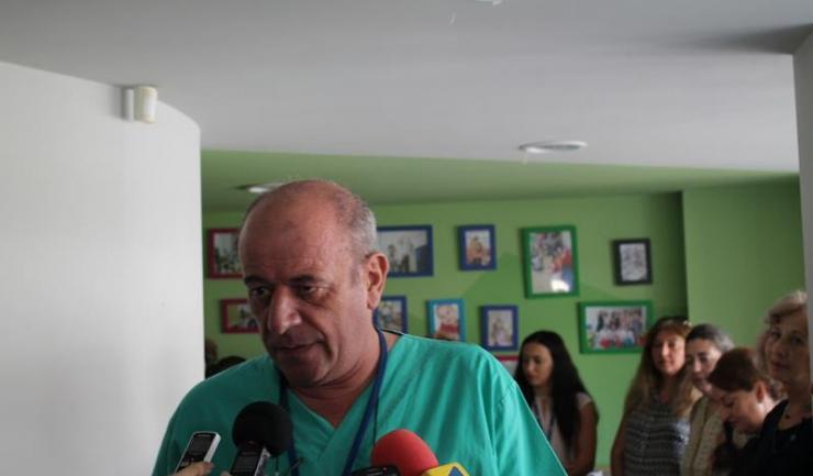 Șeful Clinicii de Chirurgie și Ortopedie Pediatrică, prof. univ. dr. Constantin Tica