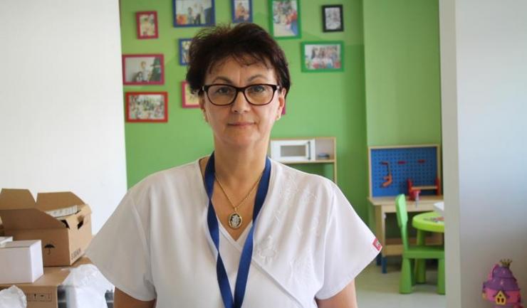 Coordonatorul secției de onco-hematologie pediatrică Centrul Medical Focus, dr. Adriana Apostol