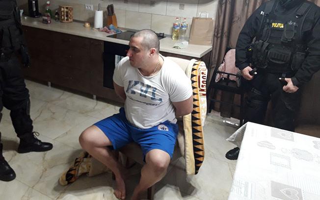 Alexandru Huţuleac, cel care l-a lovit cu sabia în cap pe poliţistul de la trupele speciale