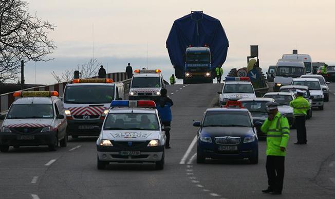 Atenție în trafic! Transport agabaritic la orizont!