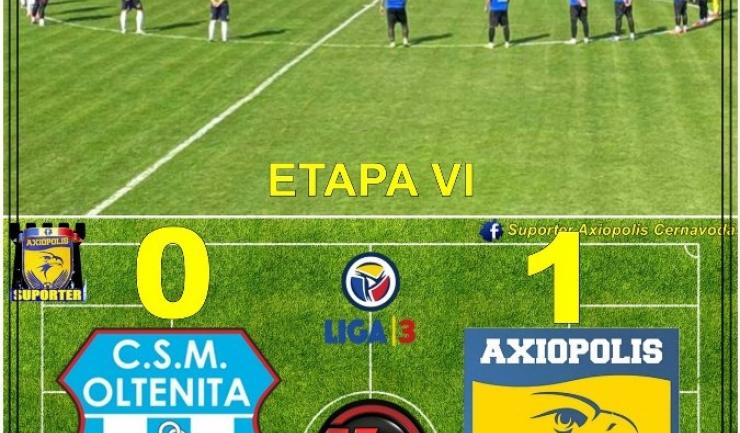 Sursa foto: Facebook Suporter Axiopolis Cernavodă