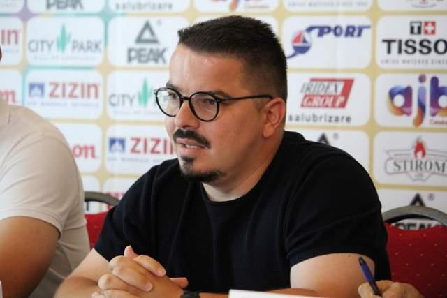 Andrei Talpeș, președintele Asociației Județene de Baschet Constanța
