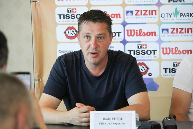 Radu Petre, delegat din partea FIBA 3x3