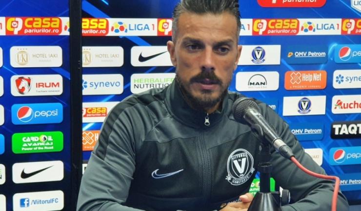 """Ruben de la Barrera, manager FC Viitorul: """"A trebuit să atacăm fără a avea jucători importanţi"""""""