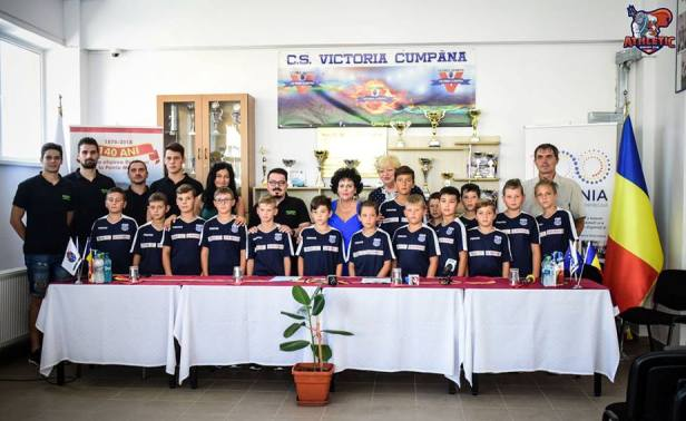 Copiii vor putea practica într-un cadru organizat baschetul şi la Cumpăna (sursa foto: Facebook Baschet Club Athletic Constanta)
