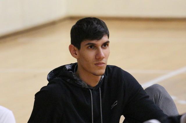 Panaiotis Pegkas s-a integrat deja în programul echipei de seniori BC Athletic Constanța