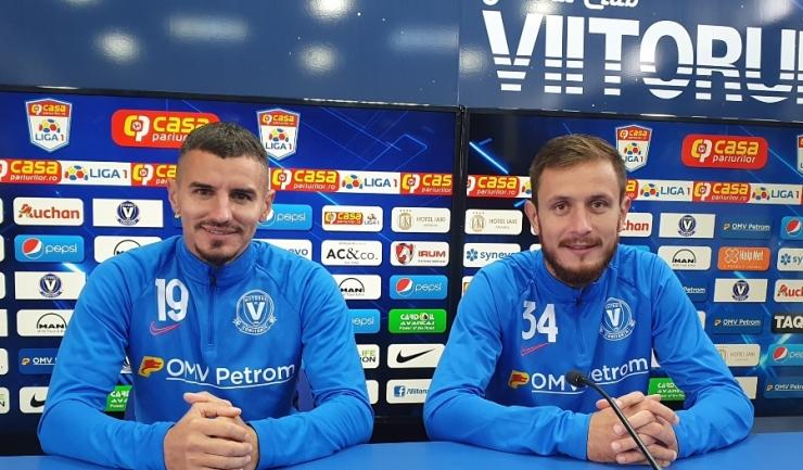 Romario Benzar şi Sebastian Mladen