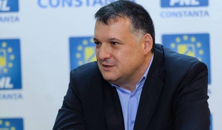 Preşedintele PNL Constanţa,  deputatul Bogdan Huţucă