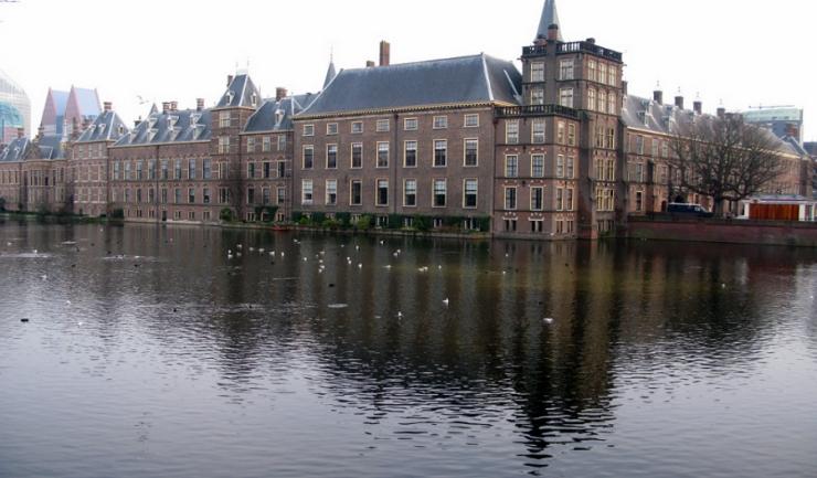 Sediul Parlamentului olandez