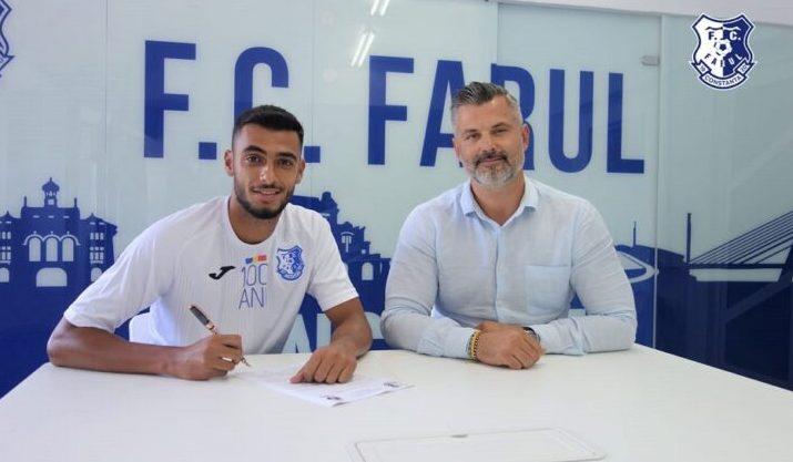 Cosmin Bîrnoi şi Tiberiu Curt, manager FC Farul (sursa foto: www.fcfarulconstanta.ro)