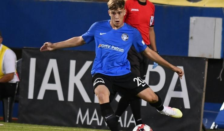 Bogdan Lazăr are 26 de selecții la loturile naționale de juniori (sursa foto: www.fcviitorul.ro)