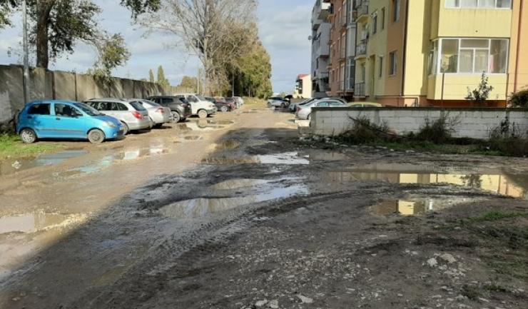"""""""Strada"""" Constantin Bobescu din cartierul Compozitorilor"""