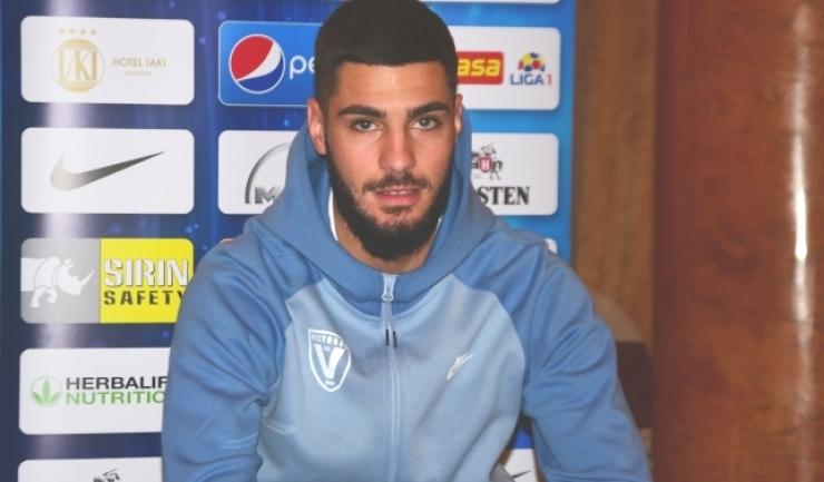 Fundaşul Radu Boboc a înscris două goluri şi a oferit trei pase decisive în actualul sezon