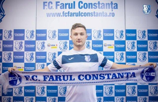 Alexandru Bodea (sursa foto: Facebook FC Farul Constanța)